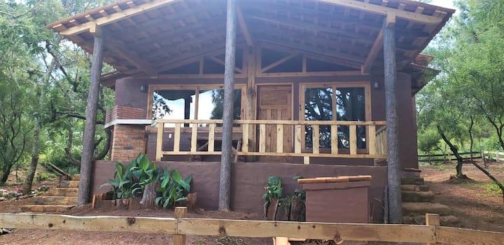 Cabaña Ensueño en Bosque el Manto Atemajac