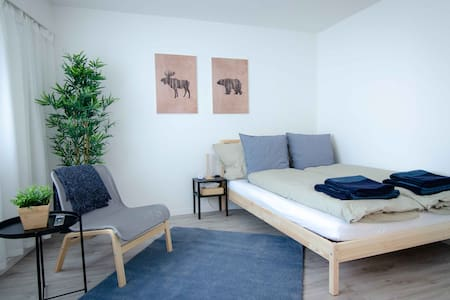 Cozy private studio apartment with parking