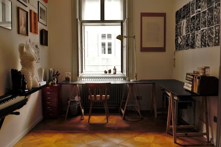 Stylish room in central, old, viennese flat - Wien - Apartment