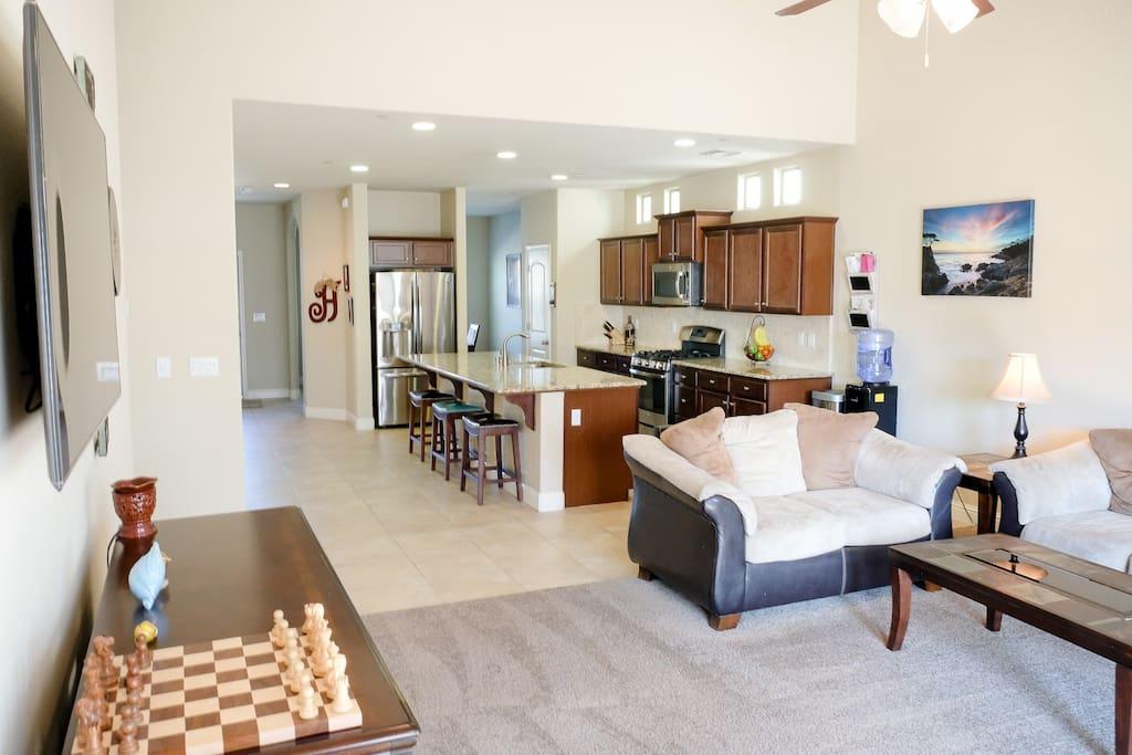 Open Floor Plan great for families.