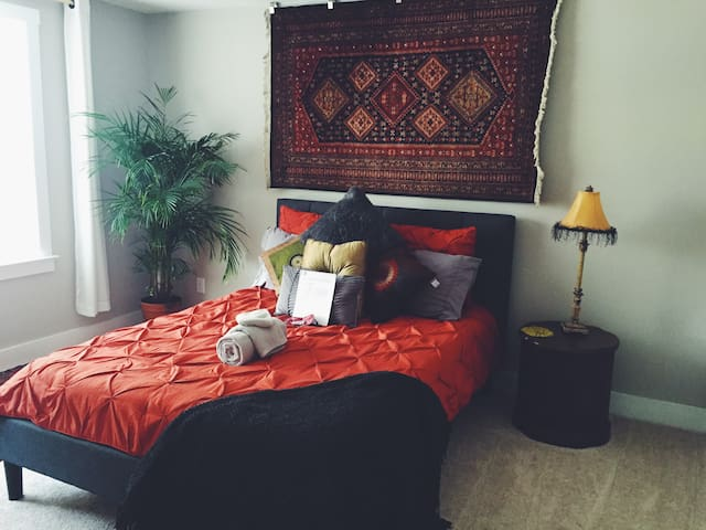BoHo Kashmir Suite in the Heart of CLT