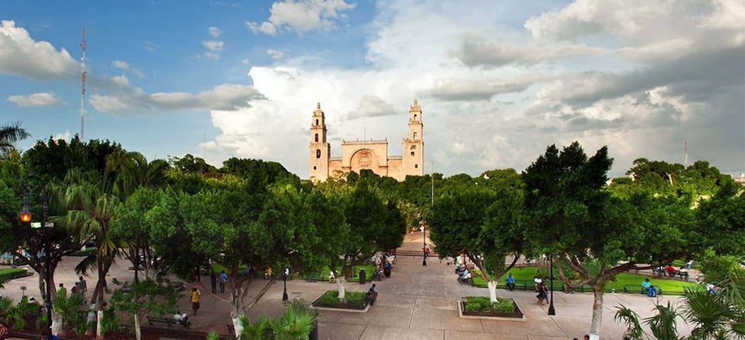 CASA TAUCH (Cuarto Privado, Entrada Independiente) - Mérida - Gästehaus