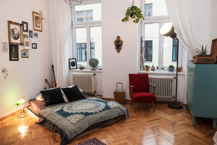 Cozy room - awesome roommates