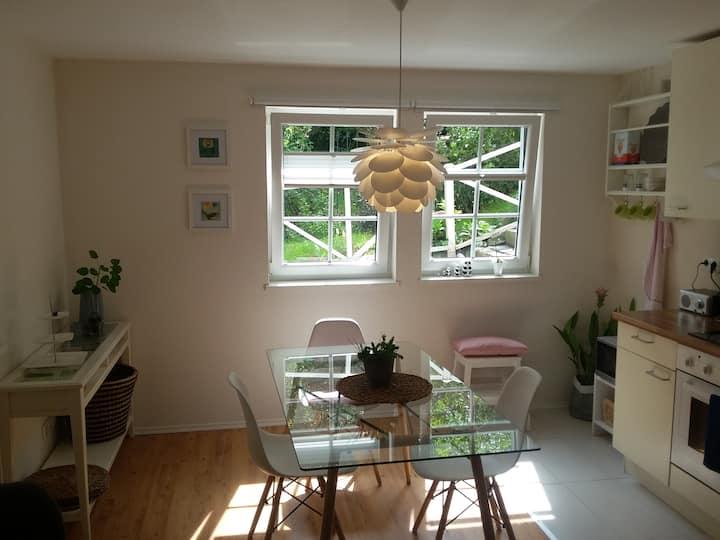 Moderne Wohnung mit Terrasse in MR-Stadtteil