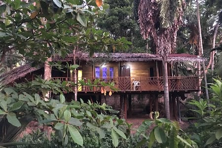 Vishwa Tree House, 1 minute from Hiriketiya Beach