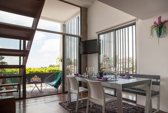 Spectacular view, new apartment. - Cuernavaca - Apartment