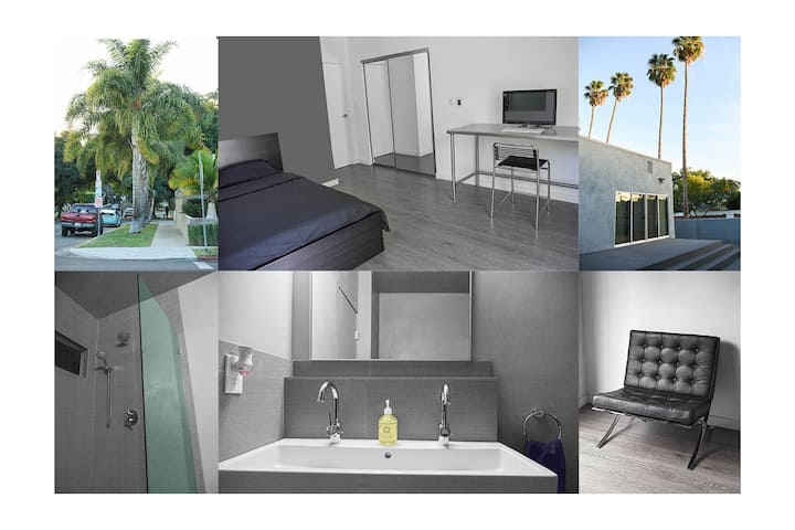 Hollywood secluded studio physical distance FRE PG