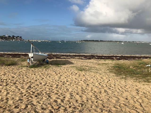 3 pièces, vue mer imprenable sur l'entrée du Golfe