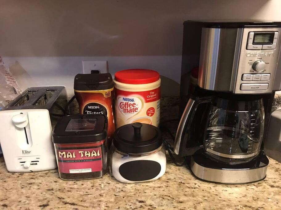 We provide free coffee