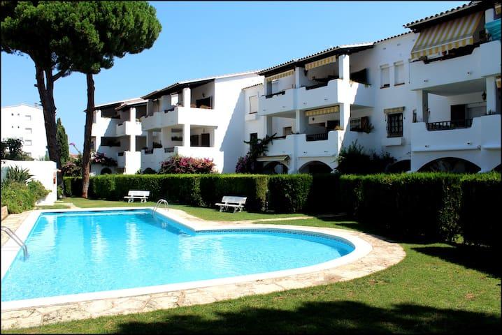 L'ESCALA appartement 600 m de la plage.