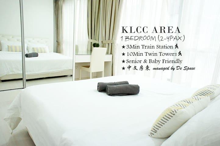#B3 Cozy Apartment + KLCC View (3pax)