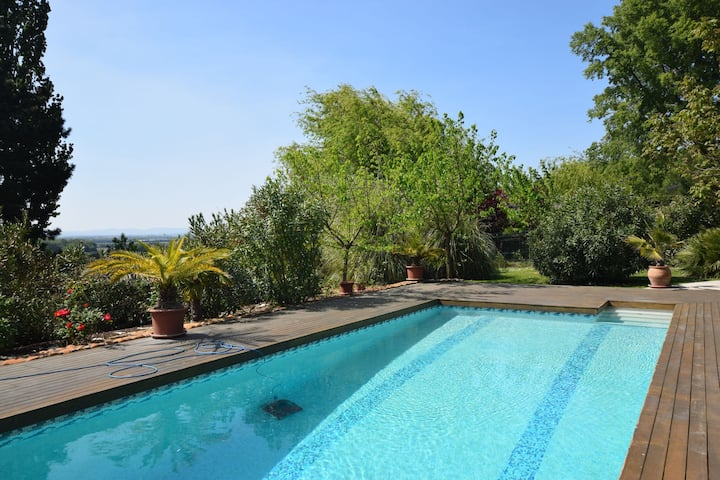 Lush Home in Les Granges-Gontardes with Swimming Pool