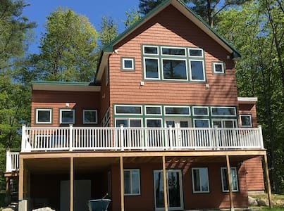 """Home in the woods -  """"On Kezar Pond"""" - Fryeburg - Haus"""