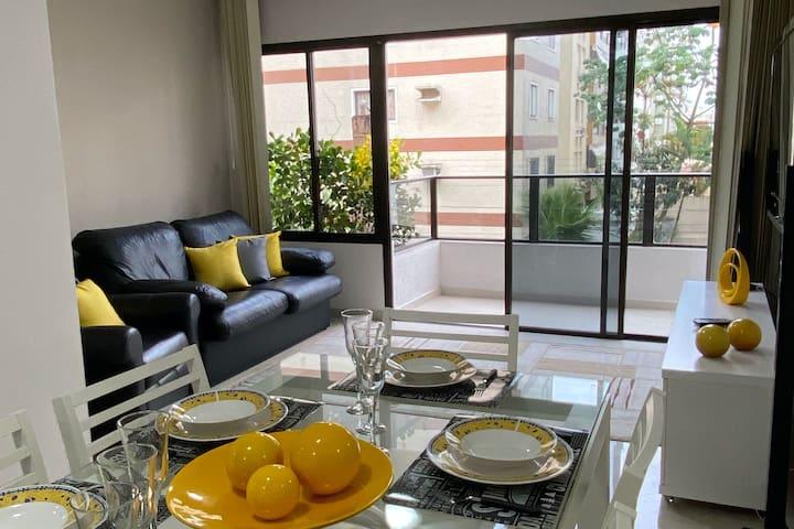 Lindo Apto Duplex na Enseada Guaruja 3 Dormitorios
