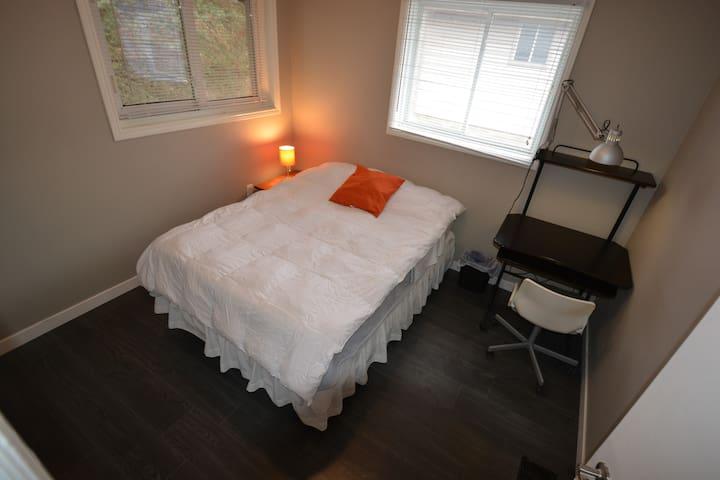 """Bedroom close to UWO. The """"Columbus""""."""