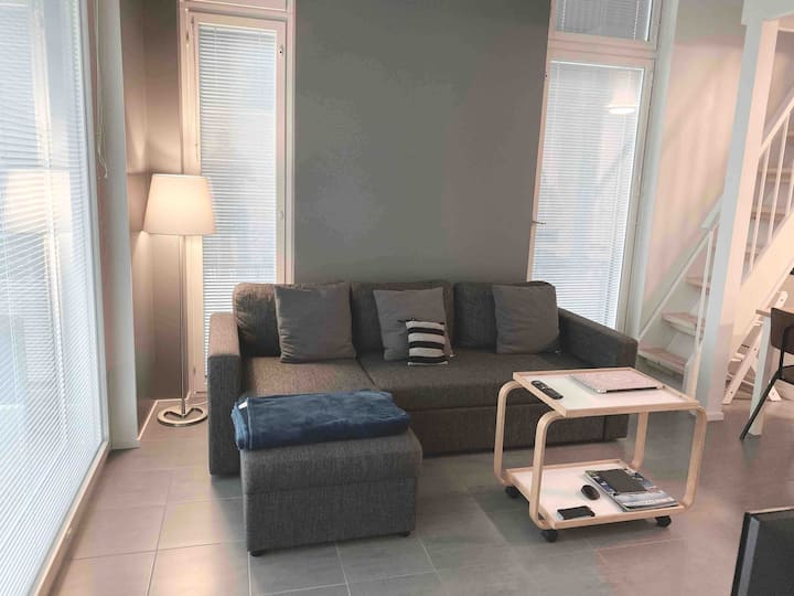 KIVI 1  New LOFT Apartment  7min Helsinki AirPort