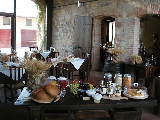 Agriturismo La Razza - Provincia di Reggio Emilia - 家庭式旅館