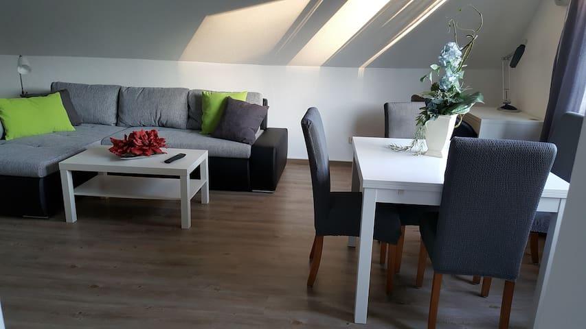 Schöne Maisonette-Wohnung für 2-3 Personen
