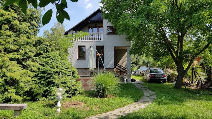 Relax garden house for up to 7 people, Pilis hills