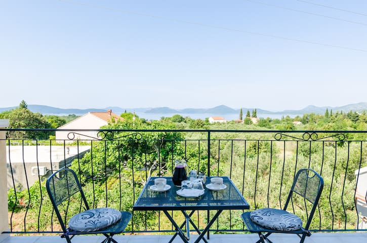 Mazdin - Triple Room with Balcony and Sea View