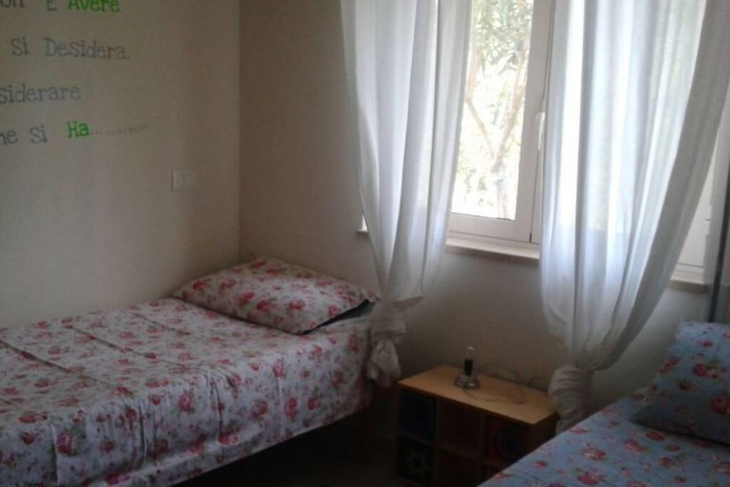 Camera con due lettini singoli