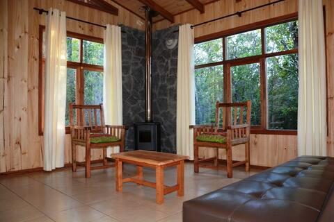 Turismo Curalemu - Cabaña para 2 personas