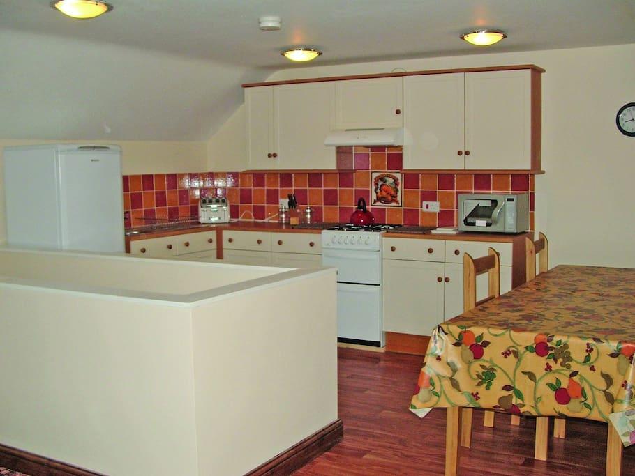 The Barn - Kitchen