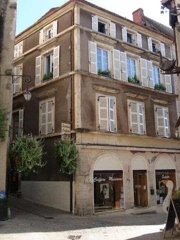Elegant 'Grand Town House'  apartment. Town centre - Souillac - Apartment