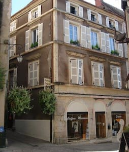 Elegant 'Grand Town House' Top floor apartment. - Souillac - Appartement