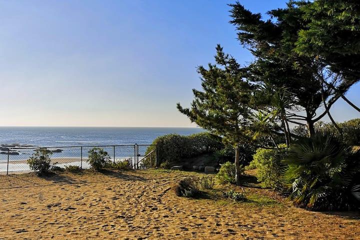 Maison de famille, accès direct plage Bonne Source