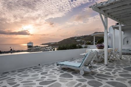 Yoga Apt-New Port Of Mykonos