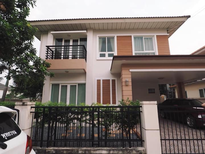 Home at The Villa Rattanathibet- Nonthaburi