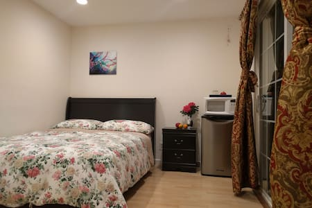 PRIVATE ENTRANCE & BATH,CLEAN,COZY! - Sunnyvale - Haus