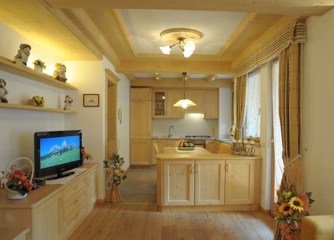 Chalet nelle Dolomiti - Mareson-Pecol - Apartment