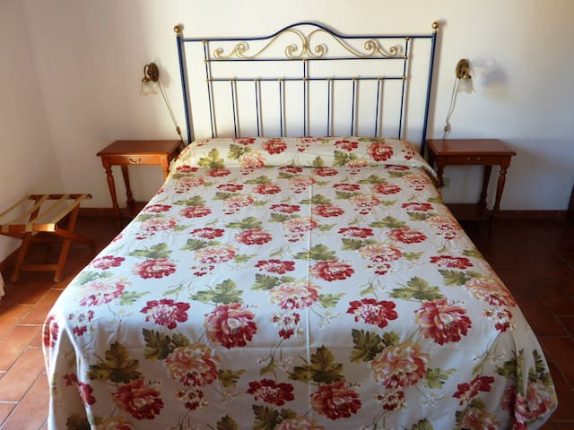 Quiet double room in the green of a lemon grove - Syrakus - Bed & Breakfast