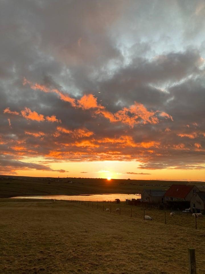 beautiful view of  Atlantic,  sunrises and sunsets