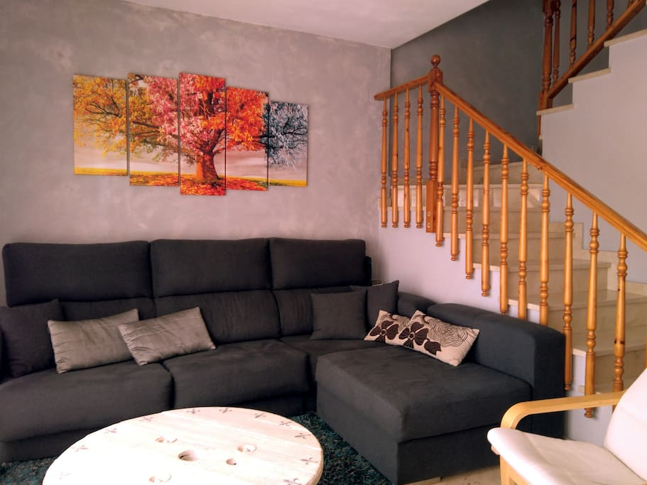 Salon zona sofa