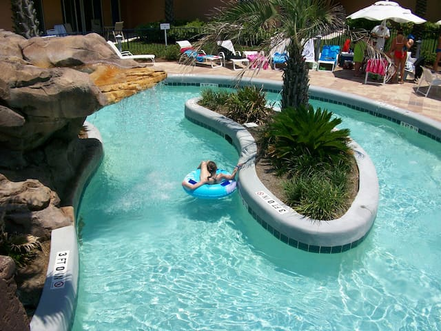Waterscape #A123, FL beach front water park resort - Fort Walton Beach - Condomínio