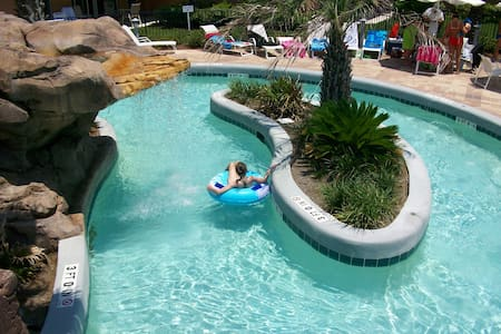 Waterscape #A123, FL beach front water park resort - Fort Walton Beach - Kondominium