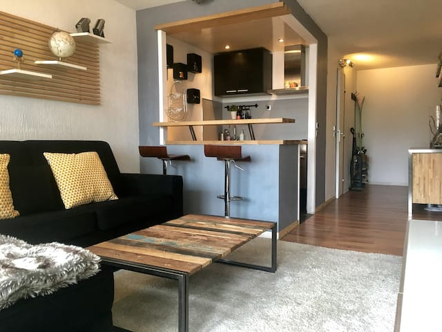 Apartment 2/3 person // Tignes Val-Claret - Tignes - Apartemen