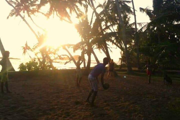 our Volleyballcourt