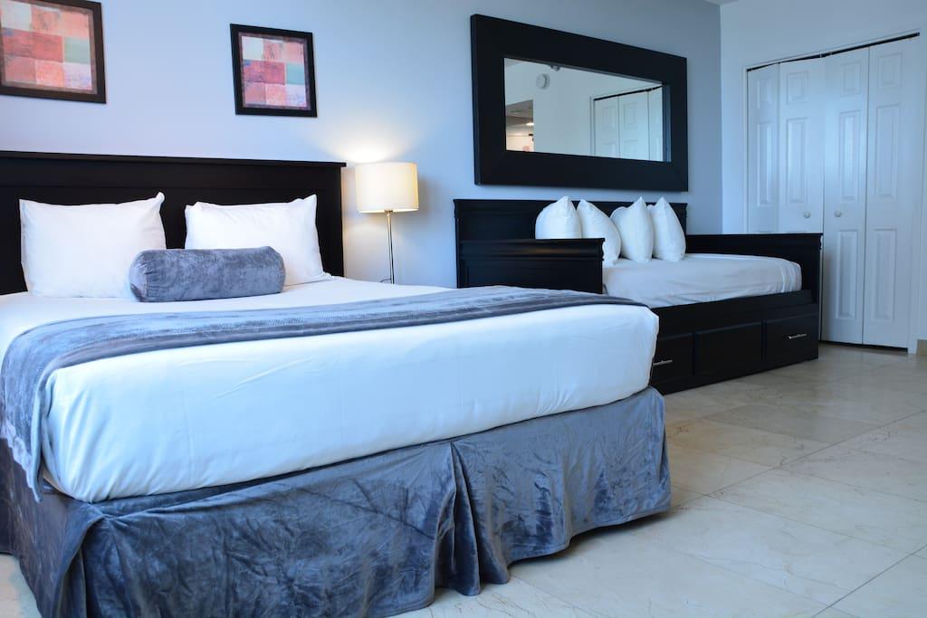 Comfortable mattresses!!