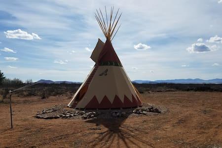 Tipi Camping near Chiricahua National Monument 2
