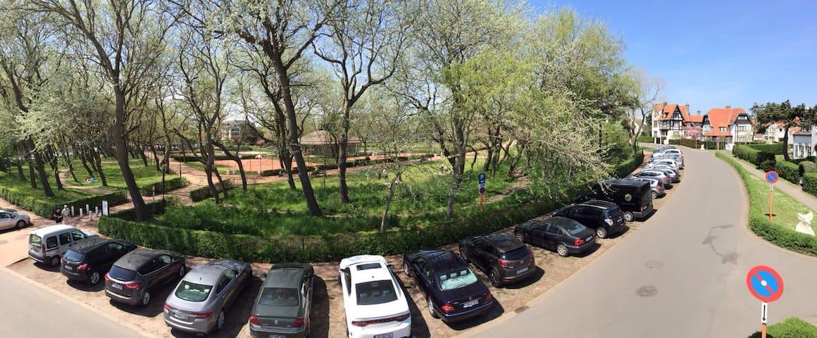 Prachtige centrale ligging aan park - De Haan