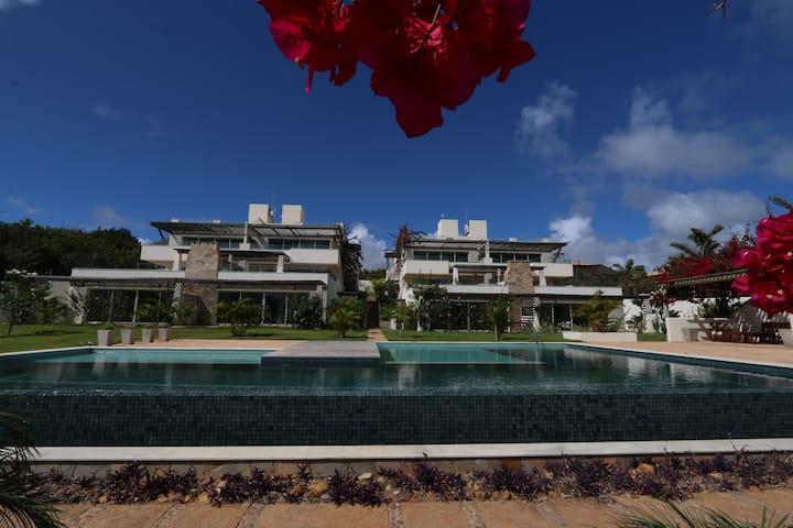 Pipa Residence - Apart. (6 PAX) C/churrasqueira