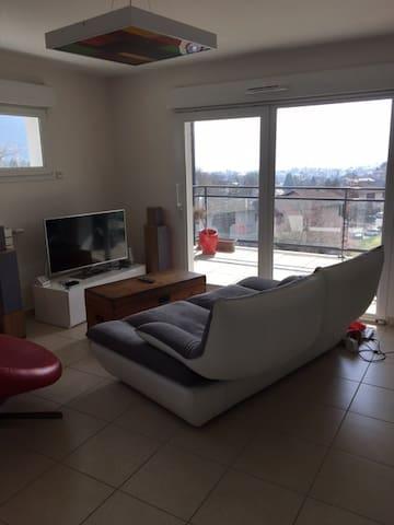 Appartement vue lac à Annecy le Vieux - Annecy-le-Vieux - Departamento