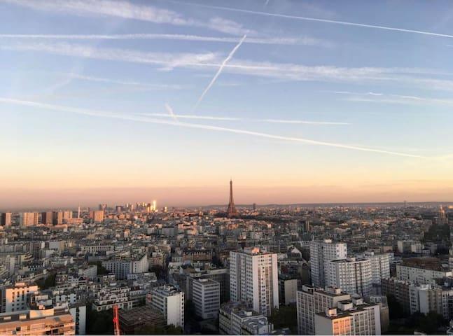 Charmant studio paris Montparnasse (BAIL Mobilité)
