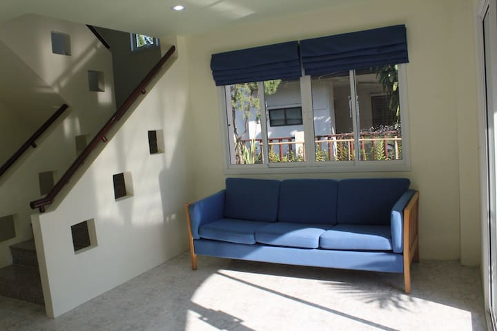 Family House up to 4 people. 2Bedroom2Bath+Kitchen - Muang - Casa