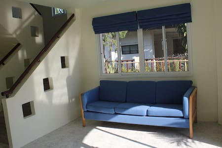 Family House up to 4 people. 2Bedroom2Bath+Kitchen - Muang - Hus