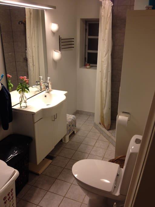Badeværelset.
